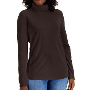 Karen Scott Cotton Turtleneck Sweater - XXL